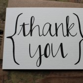 Rustic Thank You Notes