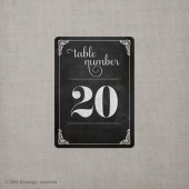 "Table Numbers - the ""Angelina"""
