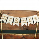 Personalized Cake Topper, Mr & Mrs, Rustic Country Barn Wedding Cake Topper, Rustic Cake Topper, Rustic Wedding Cake Topper, Burlap Cake Topper