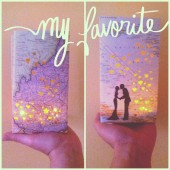 map luminary keepsake