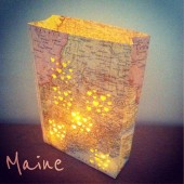 Map Lanterns Globe Lights