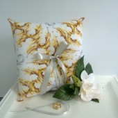 Vintage Inspired Ring Bearer PIllow