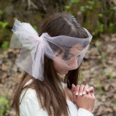 Tulle Bow Fascinator