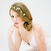 Style 607 - Crystal Flower Headband by SIBO Designs