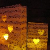 Heart Sheet Music Luminaries