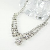 Victoria Crystal Necklace