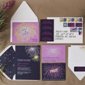 Fireworks Invitations