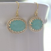 Tiffany Blue Vintage Earrings