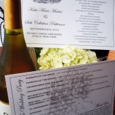 Vintage Vineyard Wedding Program