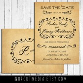 Country Hearts Save the Date