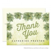 Watercolor Succulents Thank You Cards by The Spotted Olive