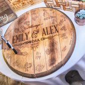 WhiskeyMade Wedding Guestbook