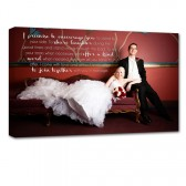 Your Wedding Photo on Canvas