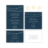 Digital Wedding Invitation: Twilight