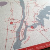 Wedding Map Insert