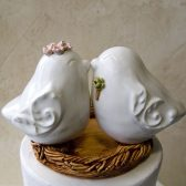 Kissing Love Bird Topper