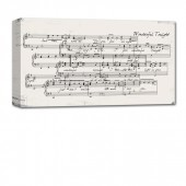sheet music on canvas lyrics