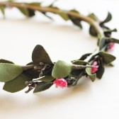 Woodland Fairy Floral Hair Wreath
