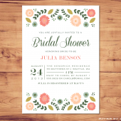 Printable Bridal Shower Invite