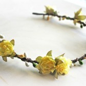Yellow Rose Crown