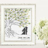 Zelda and Link Wedding Tree