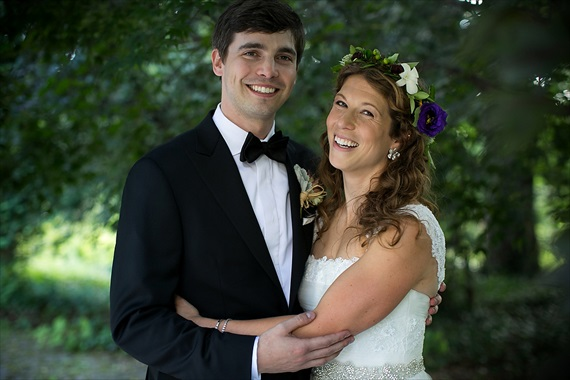 Dennis Drenner Photographs - baltimore museum wedding - smiling bride and groom