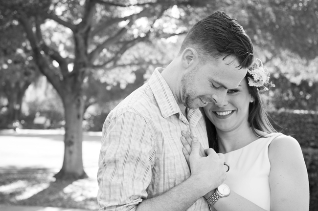 Santa Fe Springs Engagement Session, couple laugh and smile