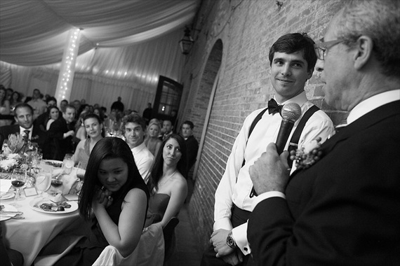 Dennis Drenner Photographs - evergreen house wedding - father of bride speech