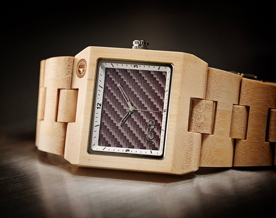 rustic themed wedding watch wood grooms gift