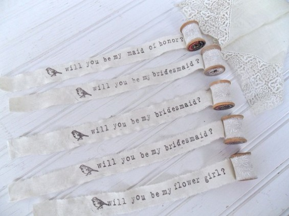 handmade wedding choosingyou21 e1292837895868 Bridesmaid Love:  Vintage Spools + Ten Gorgeous Gifts!