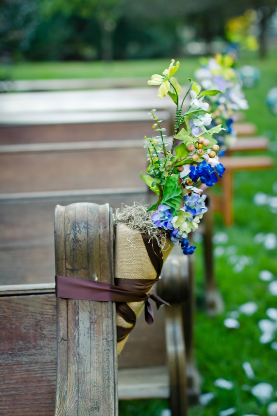 ceremony decor especially if you are planning a rustic wedding Burlap