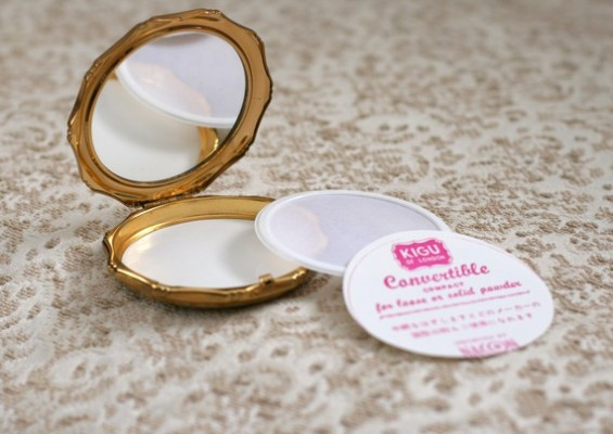 vintage compact for bridesmaid gifts