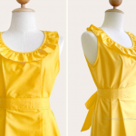 yellow bridesmaid dresses with pockets