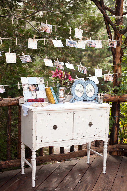 handmade wedding IMG 7888 DIY Shabby Chic Photo Display