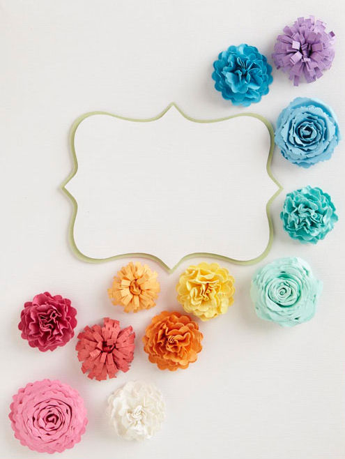 diy paper flowers wedding. DIY Paper Flowers