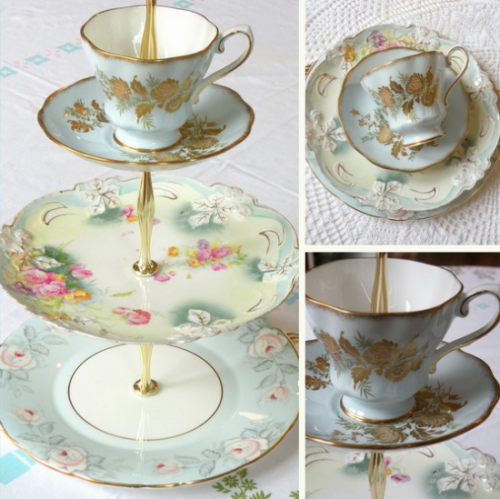 bridal shower teacups