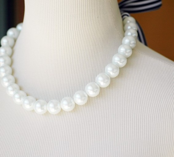 nautical wedding pearls