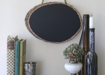 woodland chalk board