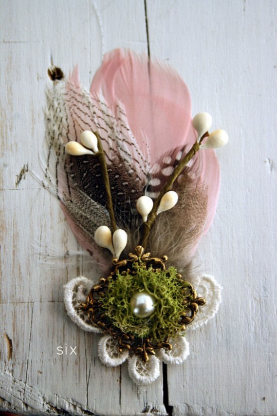 rustic boutonnieres - 6