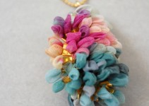 chiffon necklace