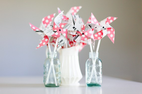 pinwheel centerpieces for bridal showers 3