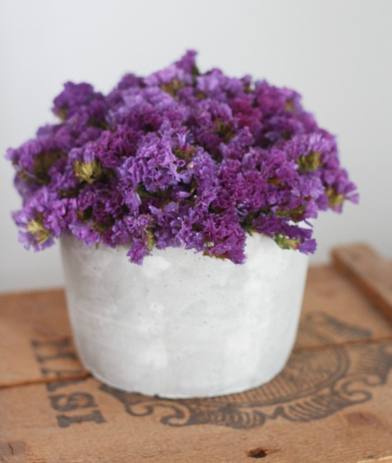 purple unique wedding centerpieces