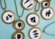 silhouette lockets