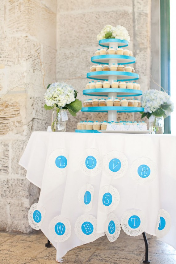 real wedding details - love is sweet