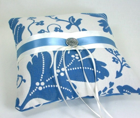 reversible handmade ring pillows