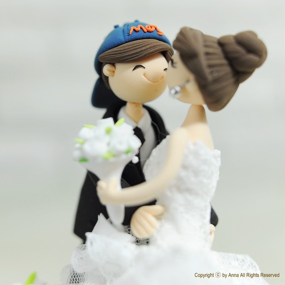handmade cake toppers sports fanatics