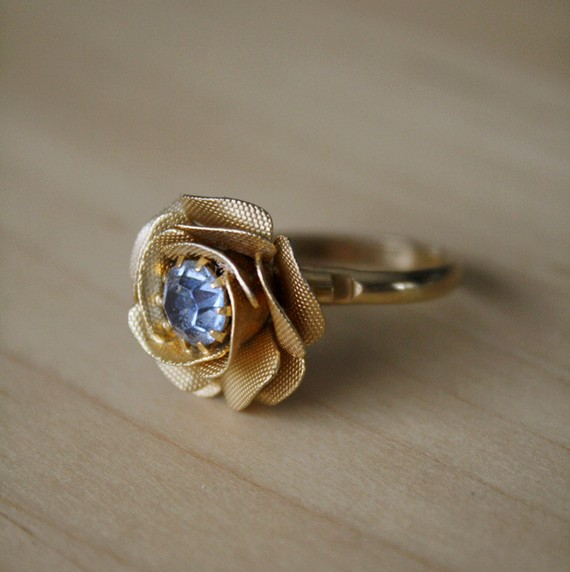 vintage cocktail ring