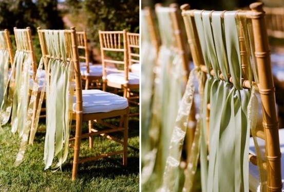 chair ribbons
