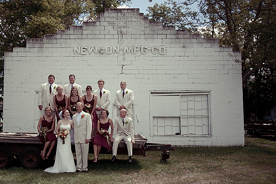 minnesota real wedding