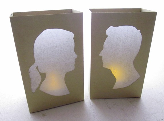 silhouette luminaries